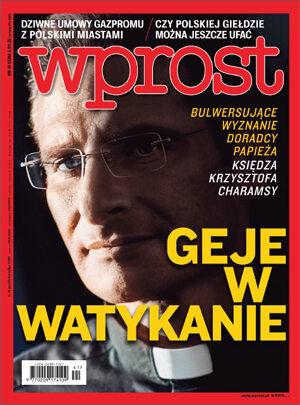 Okładka tygodnika Wprost nr 41/2015 (1700)