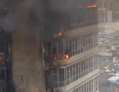 Syberia: Pożar 26-piętrowego wieżowca