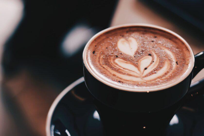 Wzorek na kawie