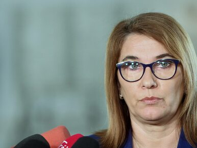 """Posłanka PO oburzona słowami Mazurek pod swoim adresem. """"Nie mam za co..."""