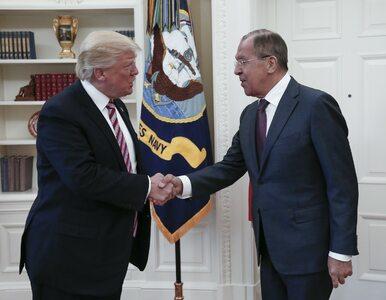 """Trump chwali spotkanie z szefem rosyjskiego MSZ. """"Przełamaliśmy lody"""""""