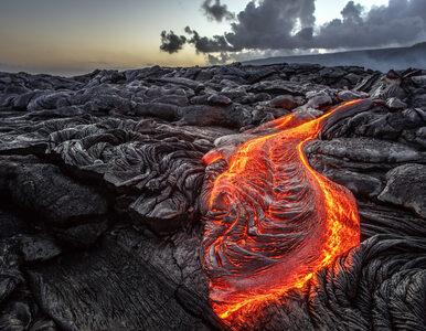 Kamera pochłonięta przez lawę. Niezwykły film z Hawajów
