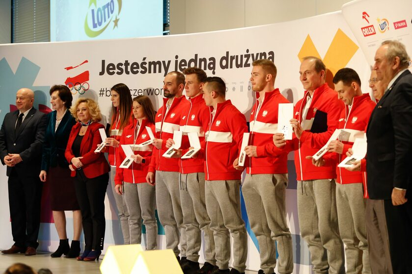 Zaprzysiężenie polskich olimpijczyków