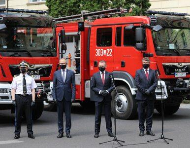 Które gminy dostaną nowe wozy strażackie?