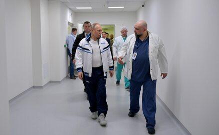 Władimir Putin odwiedził szpital. U dyrektora placówki wykryto koronawirusa