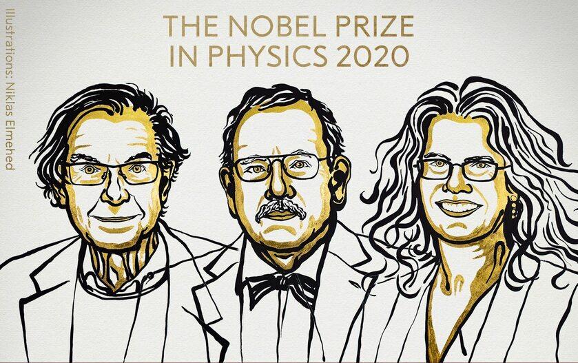 Laureaci Nagrody Nobla w dziedzinie fizyki w 2020 roku