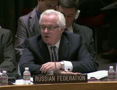 Ambasador Ukrainy do Rosji: Prowadzicie operację terrorystyczną w naszym...