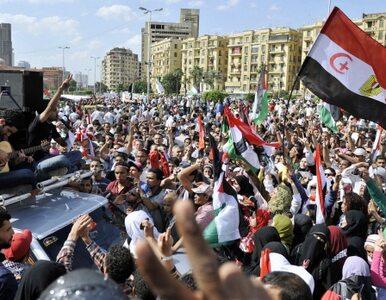 Egipcjanie znów wychodzą na ulice. Chcą zgody narodowej