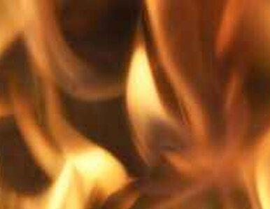 Pożar na wałbrzyskim Zamku Książ Płonie dach