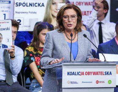 """Kto kandydatem PO na prezydenta? Kidawa-Błońska dla """"Wprost"""": Potrzebne..."""