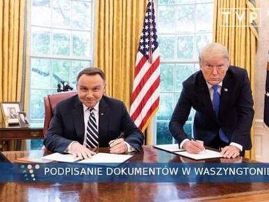 Prezydent Duda zamieścił na Twitterze MEM z Trumpem. Nawiązał do...