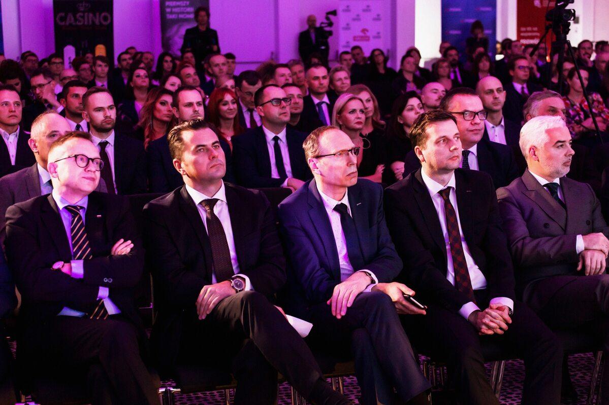 Goście honorowi gali Goście honorowi, wśród nich przedstawiciele ministerstw