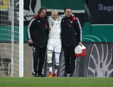 Puchar Niemiec: Bayern okupił wygraną koszmarną kontuzją Robbena