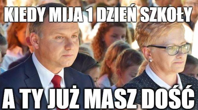Mem z Andrzejem Dudą