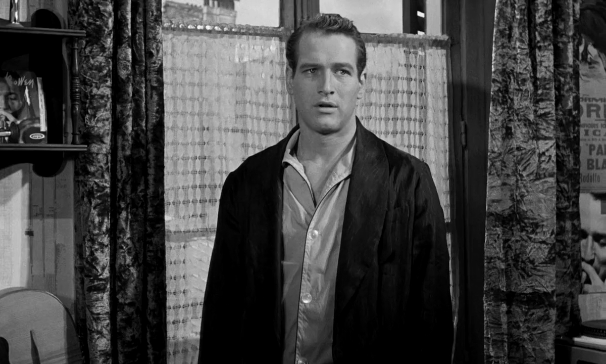 "Paul Newman w filmie ""Paryski blues"" (1961)"