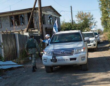 Misja OBWE dementuje doniesienia ukraińskiego dowództwa