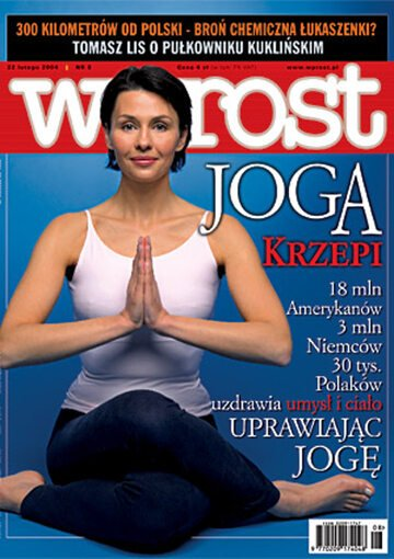 Okładka tygodnika Wprost nr 8/2004 (1108)