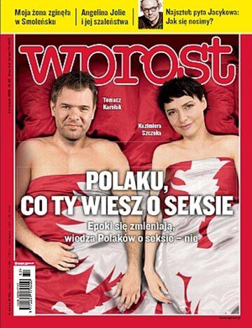Okładka tygodnika Wprost nr 32/2010 (1435)