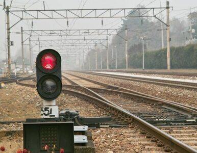 Opóźnienia na kolei. Pociąg przejechał 31-latka