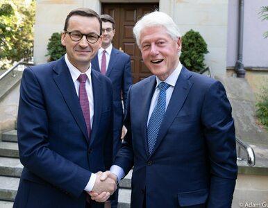 Premier Mateusz Morawiecki spotkał się z Billem Clintonem. O czym...