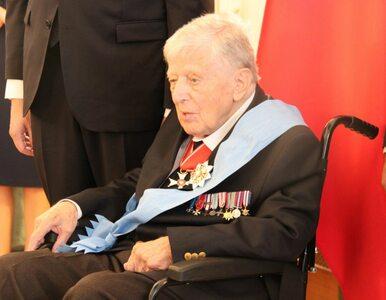 Płk. Mieczysław Stachiewicz, 100-letni weteran i chrześniak Piłsudskiego...