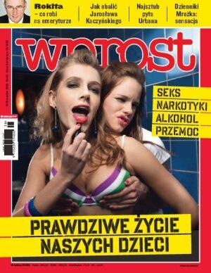 Okładka tygodnika Wprost nr 38/2010 (1441)