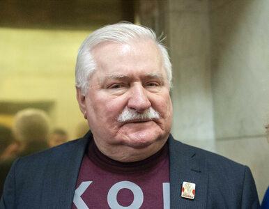 """Wałęsa skomentował sprawę ks. Cybuli. """"Jestem bardzo zaskoczony, nic o..."""