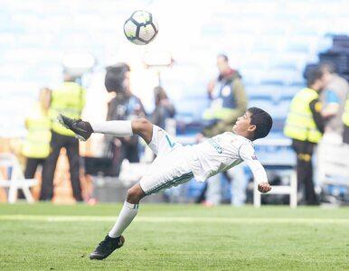 Młody Ronaldo idzie w ślady ojca. Też potrafi strzelić przewrotką