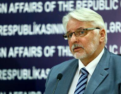 Waszczykowski: Będziemy kontaktować się ze wszystkimi państwami UE
