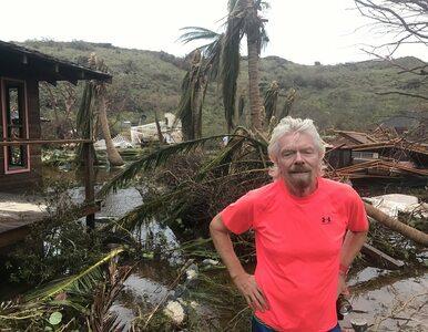 Prywatna wyspa Bransona zniszczona przez huragan Irma. Miliarder pokazał...
