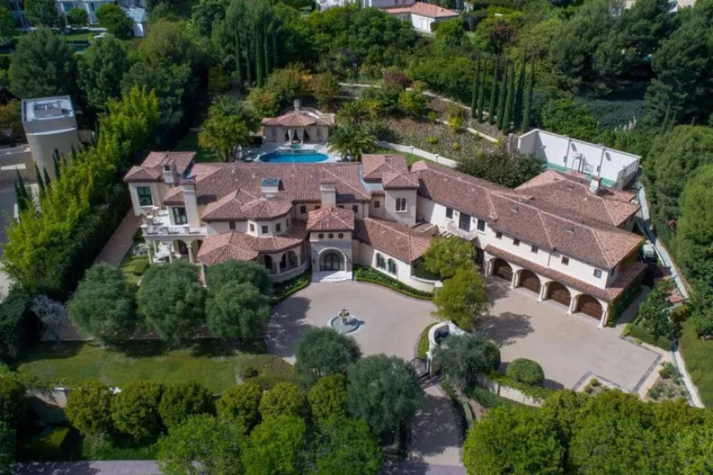 Rezydencja Vergary i Manganiello w Beverly Park w Los Angeles