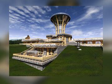 Projekt wieży z restauracją na Gubałówce