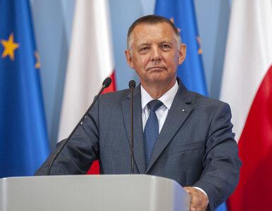 Marian Banaś pojawił się w Sejmie. Dziennikarz RMF zdołał zadać mu kilka...