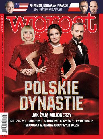 Okładka tygodnika Wprost nr 28/2018 (1843)
