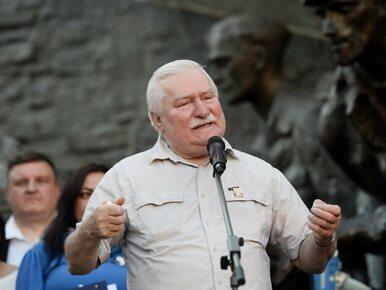 """Lech Wałęsa wyciąga rękę do Jarosława Kaczyńskiego. """"Za chwilę..."""