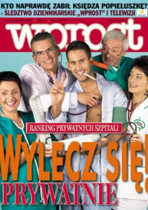 Okładka tygodnika Wprost nr 42/2005 (1194)