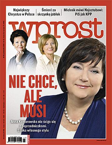 Okładka tygodnika Wprost nr 43/2010 (1446)