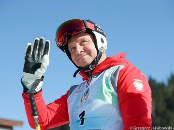 Andrzej Duda wziął udział w narciarskim Memoriale Marii Kaczyńskiej....