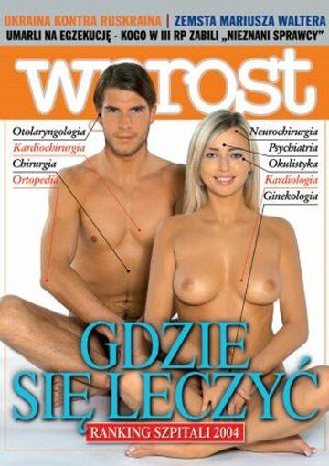 Okładka tygodnika Wprost nr 49/2004 (1149)