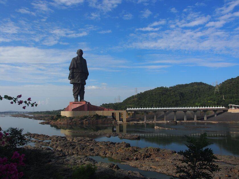 Statue of Unity – pomnik Sardara Vallabhbhai'a Patela