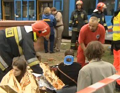 Wrocław: 30 rannych w zderzeniu tramwajów
