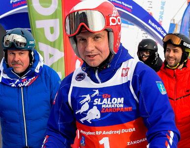 """Prezydent Duda umieścił w sieci nietypowe nagranie. """"Sezon narciarski..."""