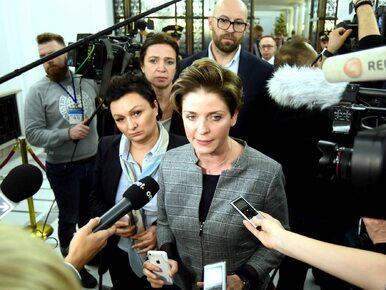 Joanna Mucha twierdziła, że została pobita w Sejmie. Teraz zaprzecza...