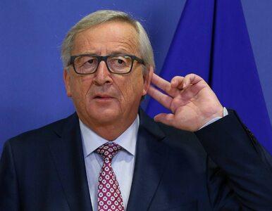 """Juncker znów daje o sobie znać. Tym razem """"ofiarą"""" Guy Verhofstadt"""