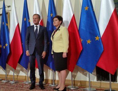 """Donald Tusk spotkał się z Beatą Szydło. """"Wszystkie destabilizacyjne,..."""