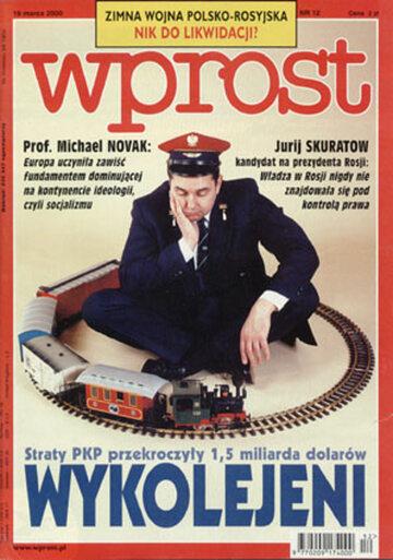 Okładka tygodnika Wprost nr 12/2000 (903)