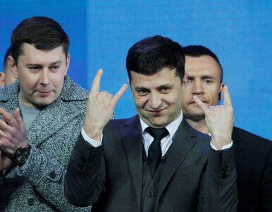 Zełenski ogłosił pierwsze powyborcze obietnice. Czym zajmie się...