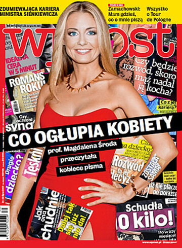 Okładka tygodnika WPROST: 30/2013