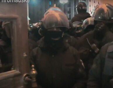Niespokojnie na Ukrainie. Zwolennicy Saakaszwilego szturmowali Pałac...