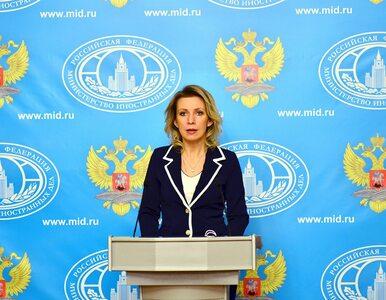 """Moskwa o """"antyrosyjskiej kampanii"""" i """"systematycznym niszczeniu""""..."""